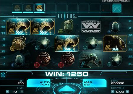 Aliens slots rezension spiele