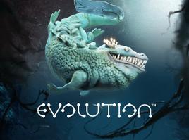 Evolution logo spiel