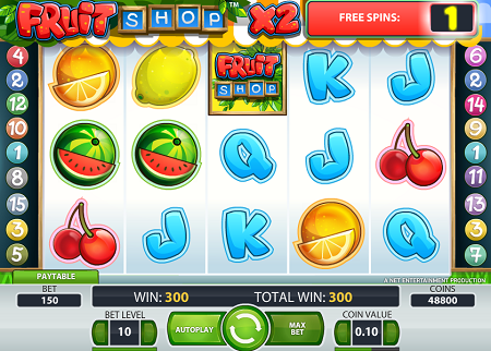 Fruit Shop rezension slots spielen