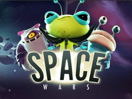 space wars slots logo