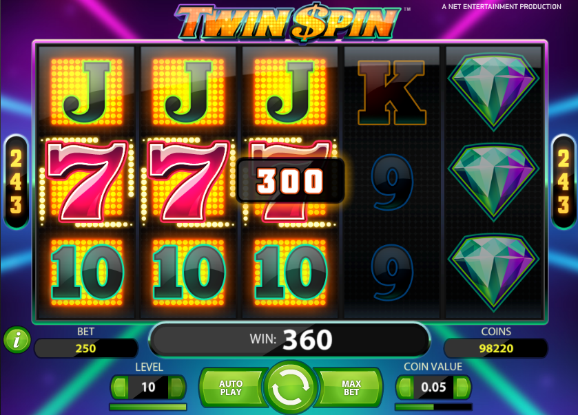 Twin Spin Spiele