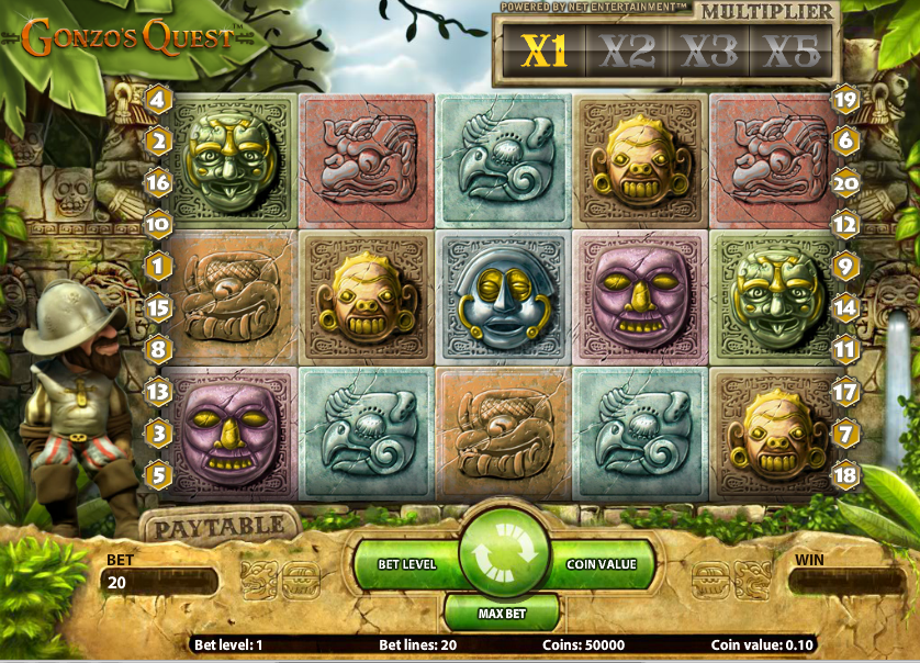 Gonzo's Quest Spiele 2