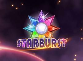 Starburst spiel logo