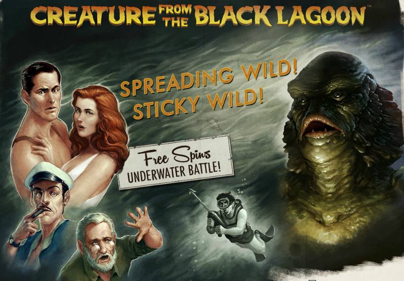 Creatures from the black lagoon slot 1